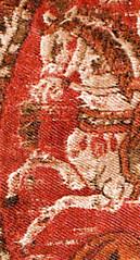 CESRAS image KMA711-3-Pferdeprotome2-rechts (CESRAS) Tags: persia ukraine textiles kiev coptic sassanian lateantiquity sassanid cesras