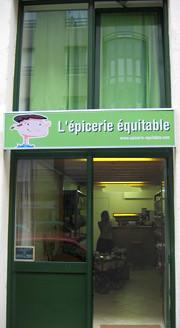 Epicerie équitable, rue Sébastien Gryphe, Lyon 7e