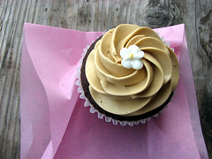 Cupcake from Miette in the Ferry Building