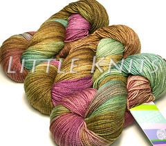 Fleece Artist Merino Sock Yarn at Little Knits