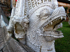 Naga temple guardian