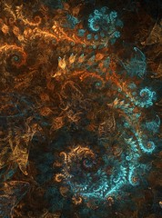 refinement thrown to the wind (longan drink) Tags: fractal apophysis