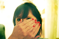 red fingernails (lolitanie) Tags: red portrait girl denmark apartment nails danish fingernails dane ida danmark jeannette dansk aalborg eirin pige lolitanie jmluneau
