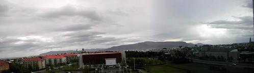 día nublado desde el Radisson SAS Saga