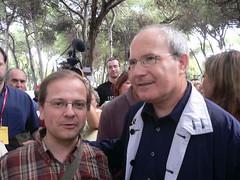 Montilla i Bassas a la Festa de la Rosa 2006