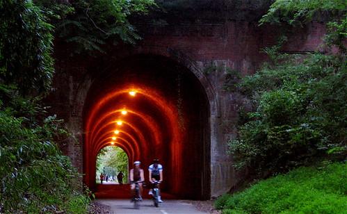 Capital Crescent Trail : Dalecarlia Tunnel