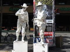spanish cowboys on Las Ramblas (chasingbirds) Tags: barcelona spain europe lasramblas streetperformance