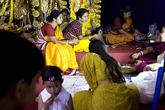 Adda in Durga Puja (Sandip Debnath) Tags: sandip debnath