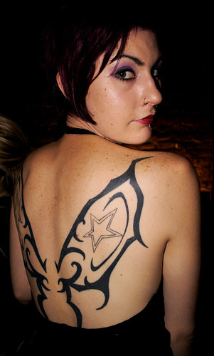 TATTOO ART: Tribal Butterfly Tattoo Designs for Women