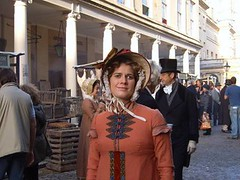 Genevieve on Location in Bath (Genevieve Swift) Tags: england film movie bath theatre genna actress swift gen cheltenham genevieve imdb genevieveswift