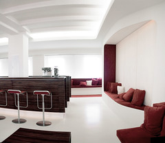 DCLounge Pano2 (frischmilch) Tags: red panorama white architecture germany relax design furniture kubrick interior room lounge cologne style retro afterwork couch agency spaceship form spaceshuttle interiordesign nordrheinwestfalen stylish redandwhite chillout wideangel interiorarchitecture retrostyle antwerpes doccheck retrolook roomdesign chilloutarea