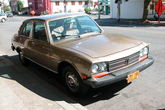 Cars of Portland: Peugeot 504 (Michiel2005) Tags: auto usa car oregon portland peugeot 504 pcar