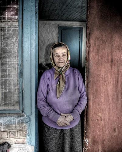 Ukraine babushka
