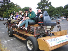 Busycle (Earthworm) Tags: rally ev paloalto raginggrannies pedalpower