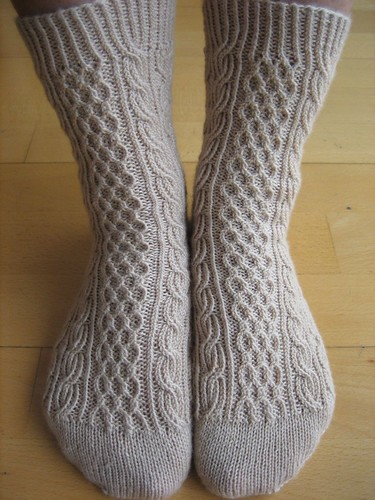 Bayerische socks, finished (4) by betty..