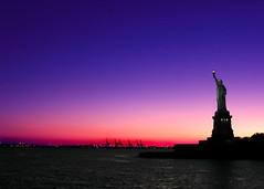 Lady Liberty at Sunset, New York, NY