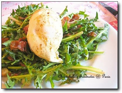 [七區] L'Auberge Bressane Dandelion Leaf Salad 蒲公英沙拉