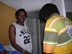 "Flinty Badman and Demon Rockers at the recording of Everybody Hype • <a style=""font-size:0.8em;"" href=""http://www.flickr.com/photos/37867910@N00/280169294/"" target=""_blank"">View on Flickr</a>"