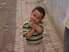 welcome kairouan (elmina) Tags: kid tunisia kairouan
