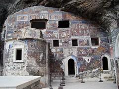 Sumela's main chapel