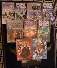 43 Years Of Doctor Who (Kaptain Kobold) Tags: dvd video who explore doctorwho monthlyscavengerhunt scifi drwho tardis msh tombaker daleks peterdavison colinbaker sylvestermccoy patricktroughton davidtennant christophereccleston jonpertwee kaptainkobold paulmcgann interestingness223 43years yourfave i500 williamhartnell msh1106 msh110612