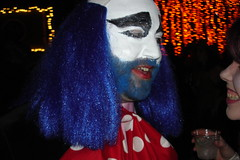 scary clown guy