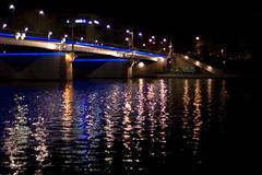 Lichtbrcke (jan_krutisch) Tags: night al nacht frankfurt 2006 nils istds westhafen