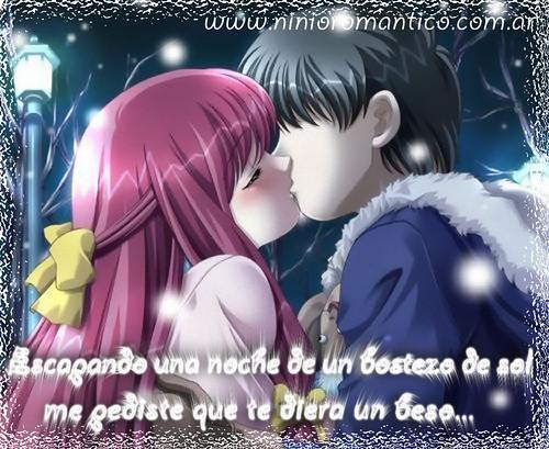 Imagenes de Animes con frases de amor!