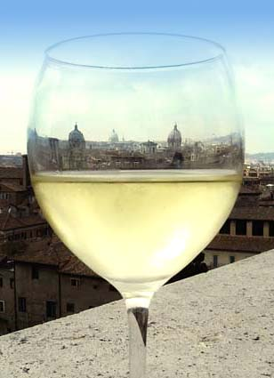 Rome in a glass