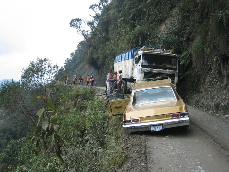 accidente Carretera de la Muerte Bolivia