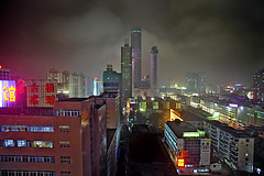 Nightscene, Shenzhen 2005