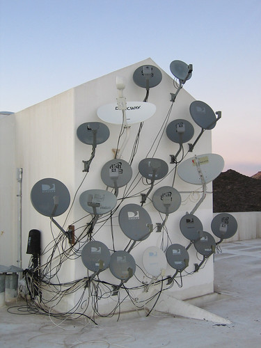 Satellite Dishes by redteam.