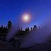 Moonlit Fumaroles - by Fort Photo