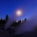 Moonlit Fumaroles - by Fort Photo