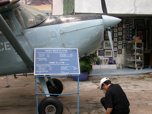 War crimes museum, Saigon