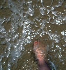 underwater selfportrait