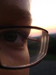 oge...^^ (Freak xD) Tags: brille sonne auge wimpern