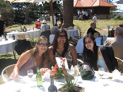 Bec, me and Jo (Princess_Fi) Tags: wedding rosebay sharkisland
