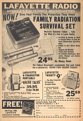 Family Radiation Survival Set ad (wardomatic) Tags: vintage magazine falloutshelter shelter atomic coldwar handbook