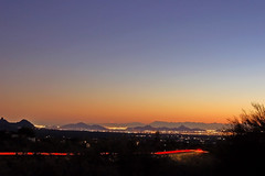 Time exposure: Cave Creek, Arizona, at dusk (gwilmore) Tags: arizona wow d50 dusk timeexposure interestingness469 i500 afnikkor50mmf18d explore19nov06 azwcc tonightssunset19nov06nearcavecreekarizona