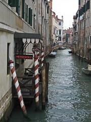Metropole (KAGoldberg) Tags: venice italy canal poles venezia metropole kagoldberg