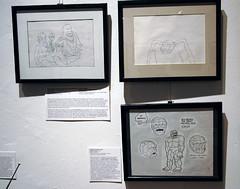 DSC_0083.jpg (edwick) Tags: newyork spaceghost herculoids cartoons saturdaymorning mocca fantasticfour hannabarbera museumofcomicandcartoonart