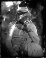Light Boy (annabelletexter) Tags: blackandwhite plate dry workshop emulsion aapg