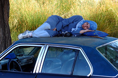 Blue Rest of a Blue Photographer on a Blue Pillow All on a Blue Skylark (Hamed Saber) Tags: camera blue girl beautiful car geotagged persian buick interestingness photographer iran sleep sony hijab persia saber rest iranian asleep  hamed slept upcoming skylark farsi   flickrexplore     somayeh    upcoming:event=105751