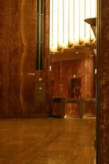 Egyptian-style (AnnabelB) Tags: birthday city nyc usa newyork art lift elevator artdeco chrysler chryslerbuilding deco bigapple foyer october2006 egyptianstyle canoneos400d notmytut