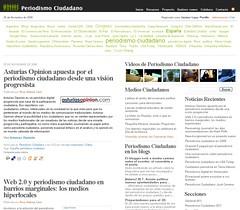 Página de periodismo ciudadano