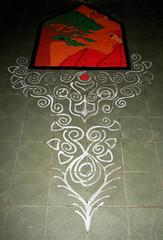 IMG_9387kolam (visithra) Tags: colours malaysia kualalumpur diwali kolam rangoli indianart ownart visithra