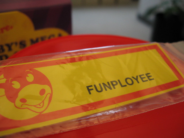 Funployee Badge