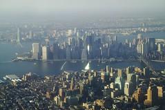 Manhattan in Autumn Light (Vin Crosbie) Tags: newyorkcity manhattan eastriver
