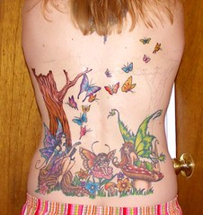 My Back (Kerrie Lynn Photography (Sugaree_GD)) Tags: tattoo butterflies fairy views fairies 5000 backpiece amybrown staceysharp